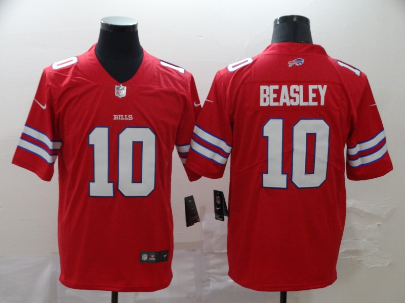 Nike Bills 10 Cole Beasley Red Vapor Untouchable Limited Jersey