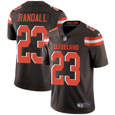 Nike Browns #23 Damarious Randall Brown Team Color Men's Stitched NFL Vapor Untouchable Limited Jersey
