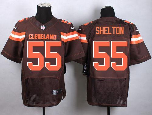 Nike Browns #55 Danny Shelton Brown Team Color Men's Stitched NFL  for cheap