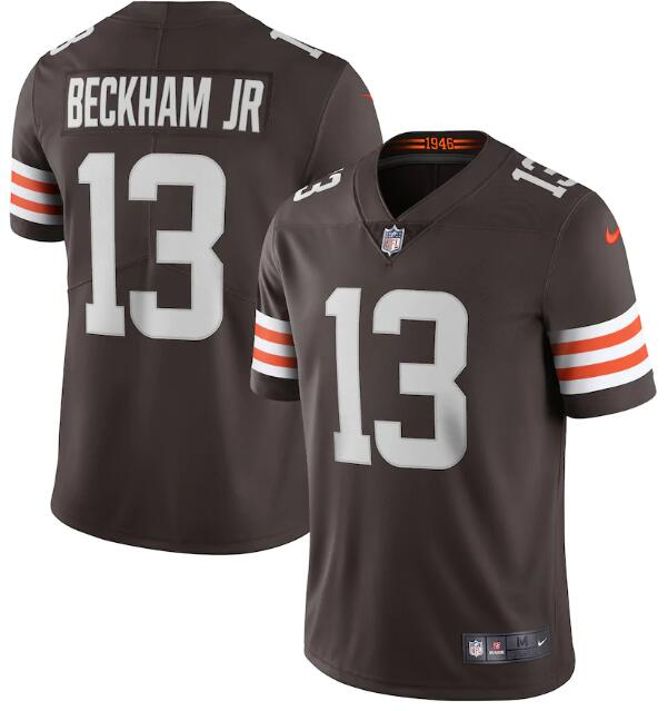 Nike Browns 13 Odell Beckham Jr. Brown 2020 New Vapor Untouchable Limited Jersey
