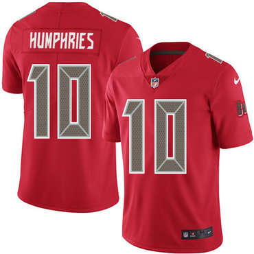 Nike Buccaneers #10 Adam Humphries Red Men's Stitched NFL Limited Rush Jersey