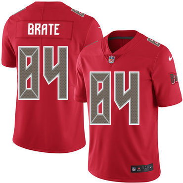 Nike Buccaneers #84 Cameron Brate Red Men's Stitched NFL Limited Rush Jersey