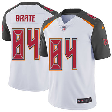 Nike Buccaneers #84 Cameron Brate White Men's Stitched NFL Vapor Untouchable Limited Jersey