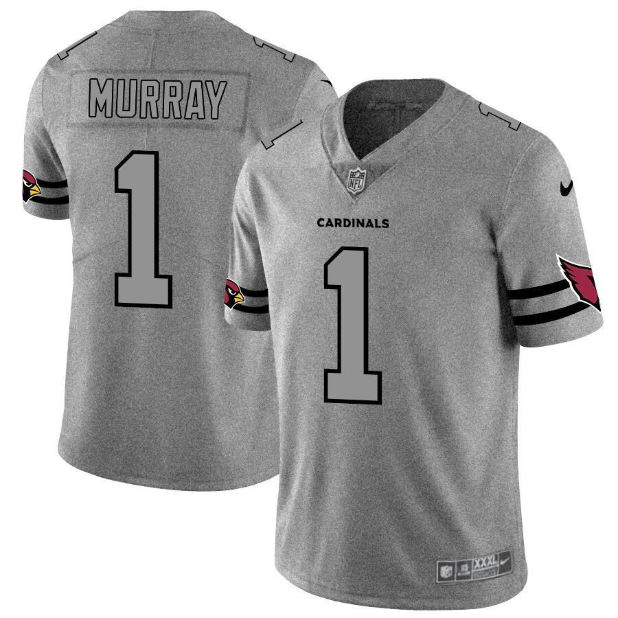 Nike Cardinals 1 Kyler Murray 2019 Gray Gridiron Gray Vapor Untouchable Limited Jersey