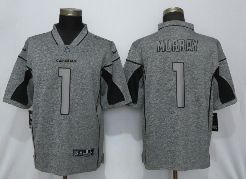 Nike Cardinals 1 Kyler Murray Gray Gridiron Gray Vapor Untouchable Limited Jersey