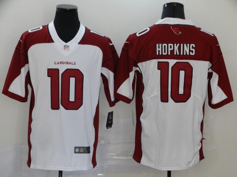 Nike Cardinals 10 DeAndre Hopkins White Vapor Untouchable Limited Jersey