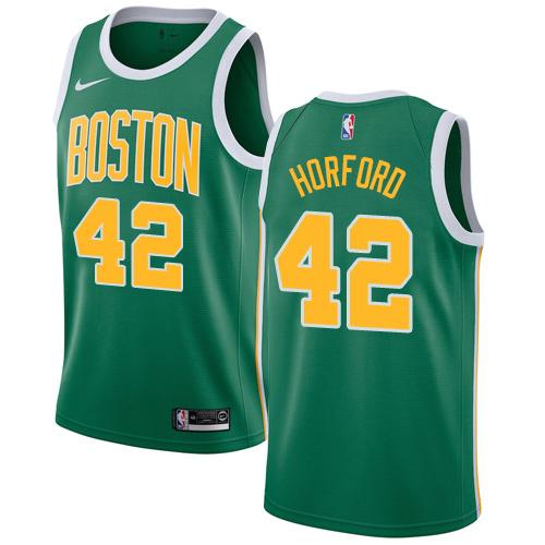 Nike Celtics #42 Al Horford Green NBA Swingman Earned Edition Jersey