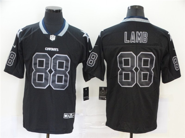Nike Cowboys 88 Ceedee Lamb Black Shadow Legend Limited Jersey