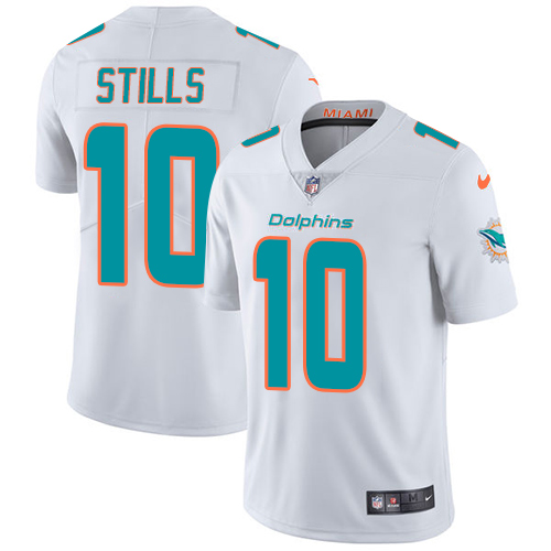Nike Dolphins #10 Kenny Stills White Youth Stitched NFL Vapor Untouchable Limited Jersey