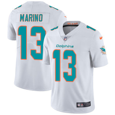 Nike Dolphins #13 Dan Marino White Youth Stitched NFL Vapor Untouchable Limited Jersey