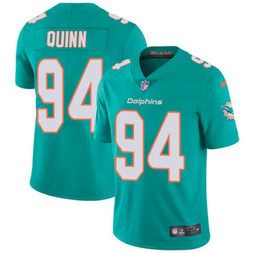 Nike Dolphins #94 Robert Quinn Aqua Green Team Color Youth Stitched NFL Vapor Untouchable Limited Jersey