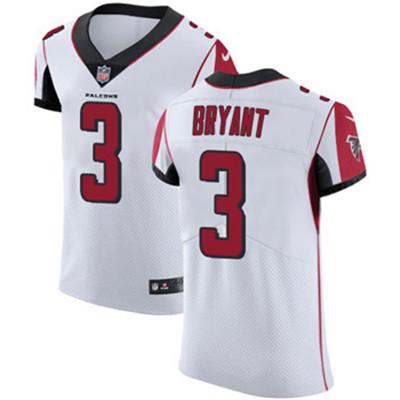 big sale 18217 e1d5e Nike Falcons #3 Matt Bryant White Men's Stitched NFL Vapor ...
