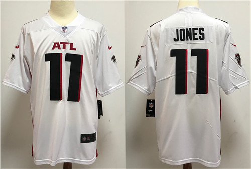 Nike Falcons 11 Julio Jones white New Vapor Untouchable Limited Jersey