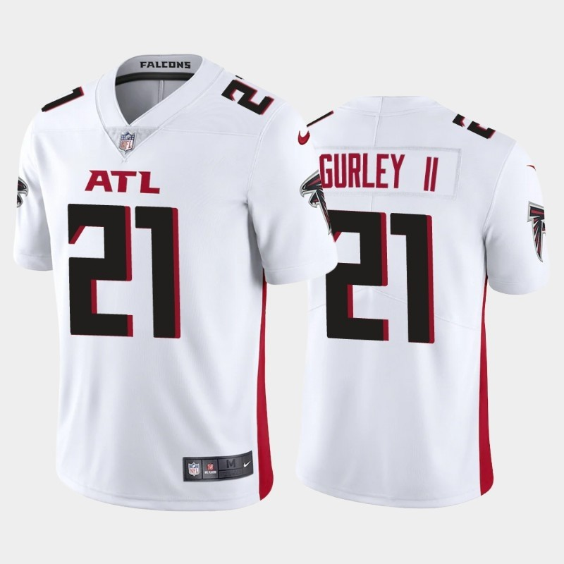 Nike Falcons 21 Todd Gurley II White New Vapor Untouchable Limited Jersey