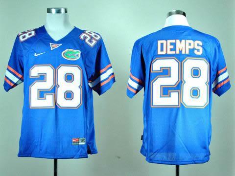 NEW Florida Gators Jeff Demps 28 Royal Blue College Football Jerseys