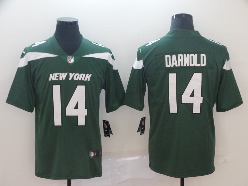 Nike Jets 14 Sam Darnold Green New 2019 Vapor Untouchable Limited Jersey