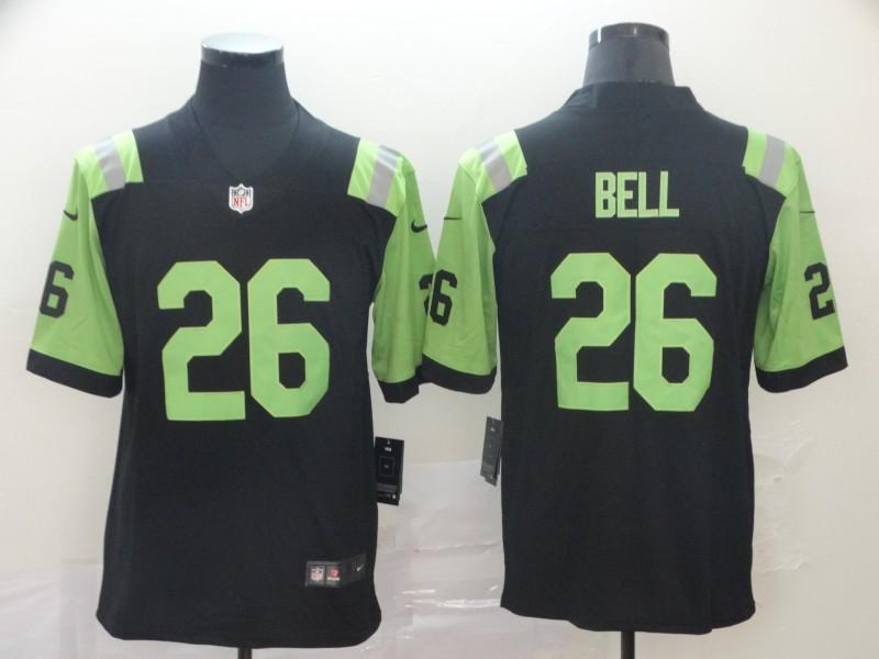 Nike Jets 26 Le'Veon Bell Black City Edition Vapor Untouchable Limited Jersey