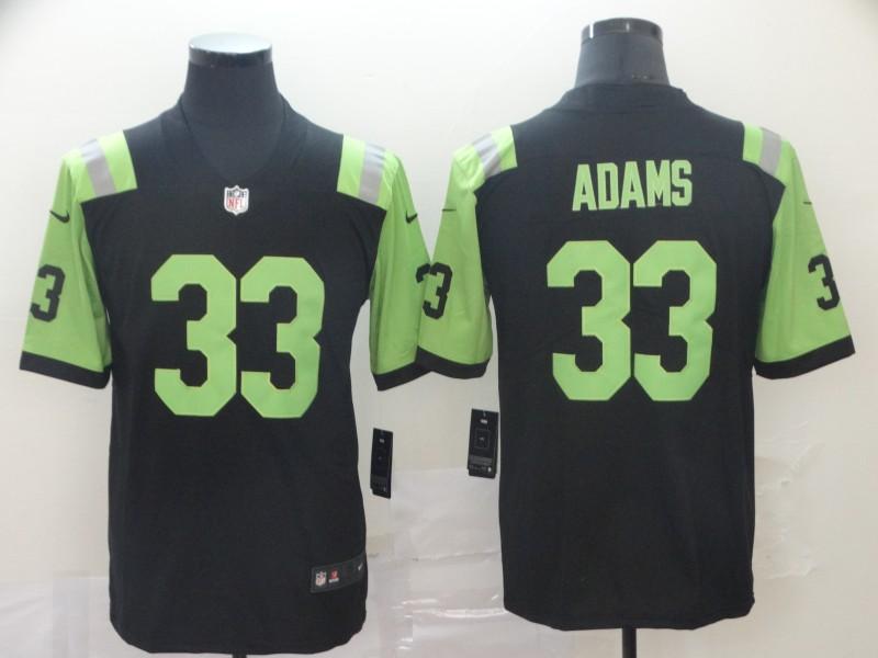 Nike Jets 33 Jamal Adams Black City Edition Vapor Untouchable Limited Jersey