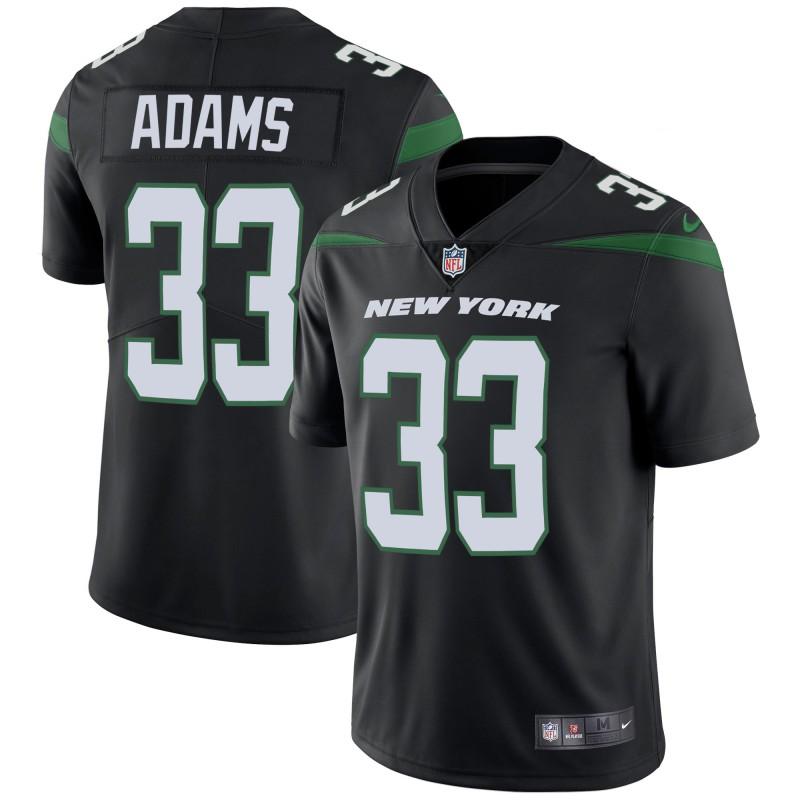 Nike Jets 33 Jamal Adams Black New 2019 Vapor Untouchable Limited Jersey