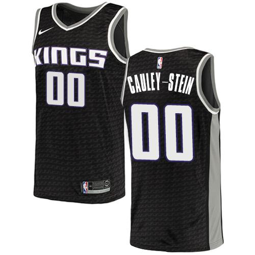 Nike Kings #00 Willie Cauley-Stein Black NBA Swingman Statement Edition Jersey