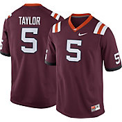 Nike Men's Virginia Tech Hokies #5 Tyrod Taylor Maroon Replica College Alumni Jersey