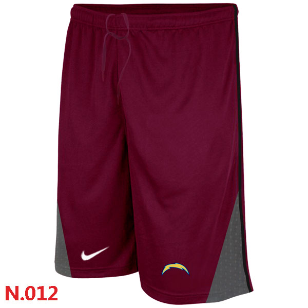 Nike NFL San Diego Charger Classic Shorts Red