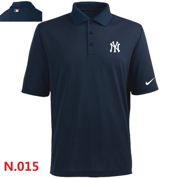 Nike New York Yankees 2014 Players Performance Polo -Dark biue