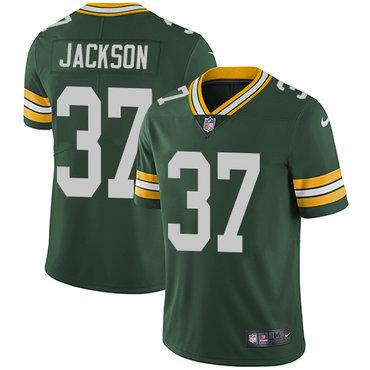 Nike Packers #37 Josh Jackson Green Team Color Men's Stitched NFL Vapor Untouchable Limited Jersey