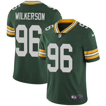 Nike Packers #96 Muhammad Wilkerson Green Team Color Men's Stitched NFL Vapor Untouchable Limited Jersey