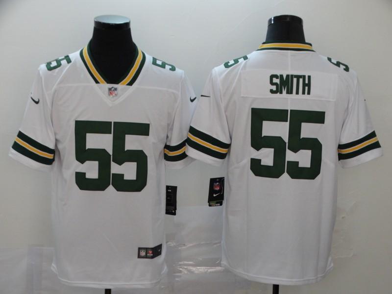 Nike Packers 55 Za'Darius Smith White Vapor Untouchable Limited Jersey