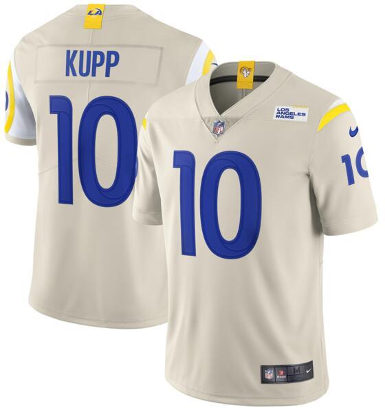 Nike Rams 10 Cooper Kupp Bone 2020 New Vapor Untouchable Limited Jersey