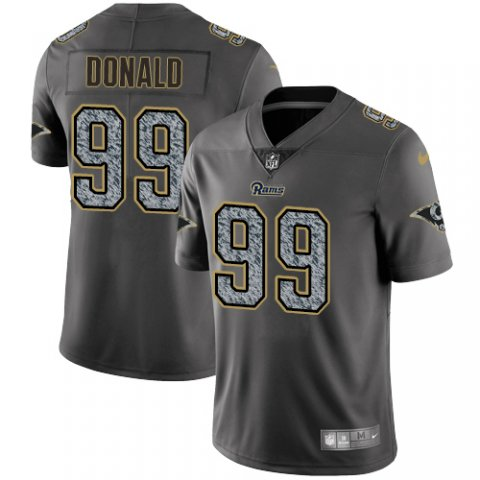 Nike Rams 99 Aaron Donald Gray Camo Vapor Untouchable Limited Jersey