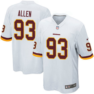 Nike Redskins #93 Jonathan Allen White Youth Stitched NFL Elite Jersey
