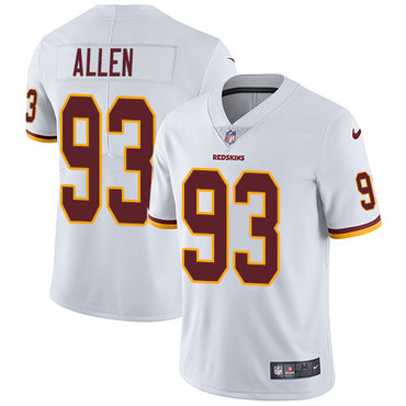 Nike Redskins #93 Jonathan Allen White Youth Stitched NFL Vapor Untouchable Limited Jersey