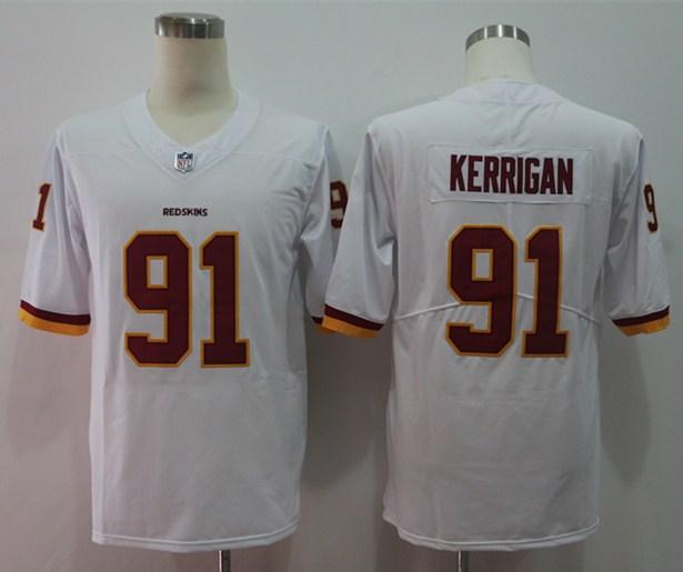 Nike Redskins 91 Ryan Kerrigan White Alternate Vapor Untouchable Limited Jersey