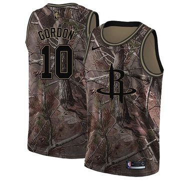 Nike Rockets #10 Eric Gordon Camo Women's NBA Swingman Realtree Collection Jersey