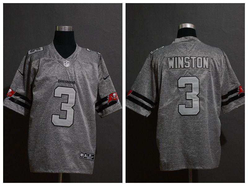 Nike Seahawks 3 Russell Wilson 2019 Gray Gridiron Gray Vapor Untouchable Limited Jersey