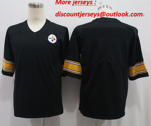 Nike Steelers Blank Black Vapor Untouchable Limited Jersey