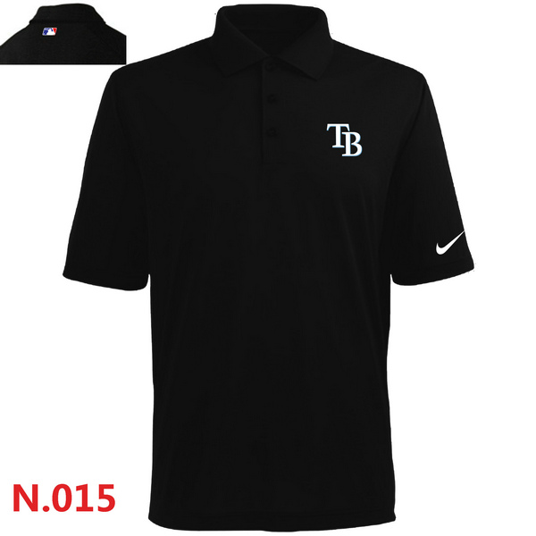 Nike Tampa Bay Rays 2014 Players Performance Polo -Black