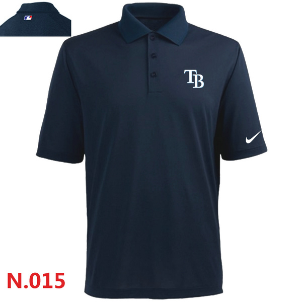 Nike Tampa Bay Rays 2014 Players Performance Polo -Dark biue