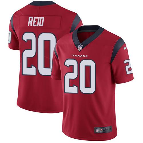 Nike Texans 20 Justin Reid Red Vapor Untouchable Limited Jersey