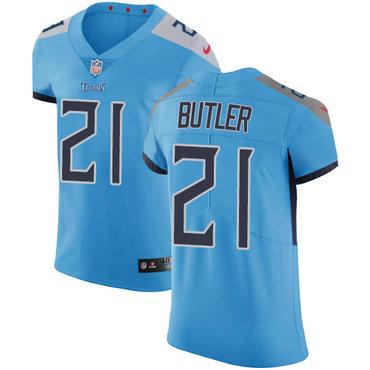 Nike Titans #21 Malcolm Butler Light Blue Team Color Men's Stitched NFL Vapor Untouchable Elite Jersey