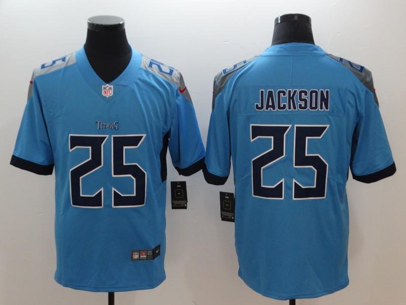 Nike Titans 25 Adoree' Jackson Light Blue Vapor Untouchable Limited Jersey