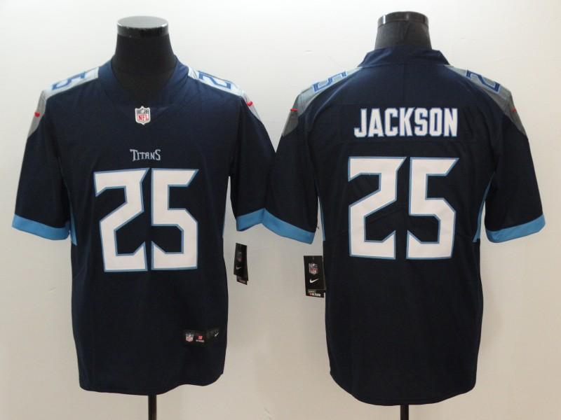 Nike Titans 25 Adoree' Jackson Navy Vapor Untouchable Limited Jersey