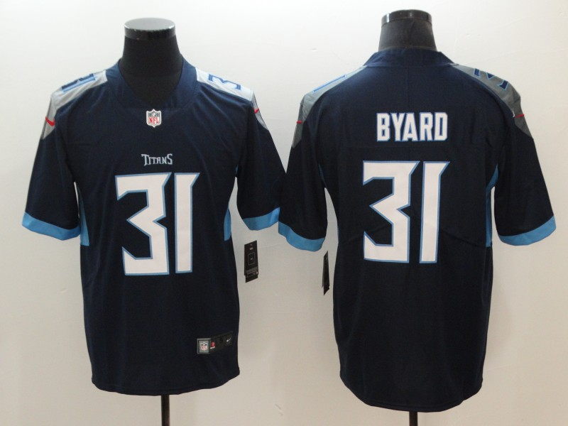 Nike Titans 31 Kevin Byard Navy Vapor Untouchable Limited Jersey