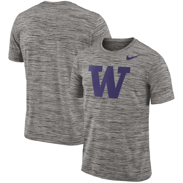 Nike Washington Huskies 2018 Player Travel Legend Performance T Shirt