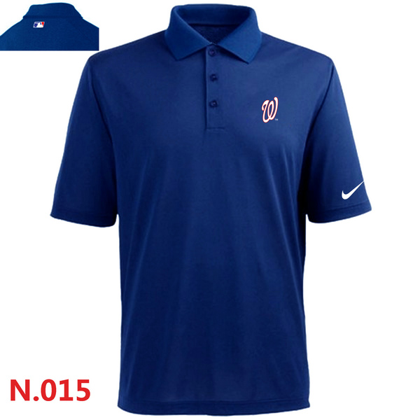 Nike Washington Nationals 2014 Players Performance Polo -Blue