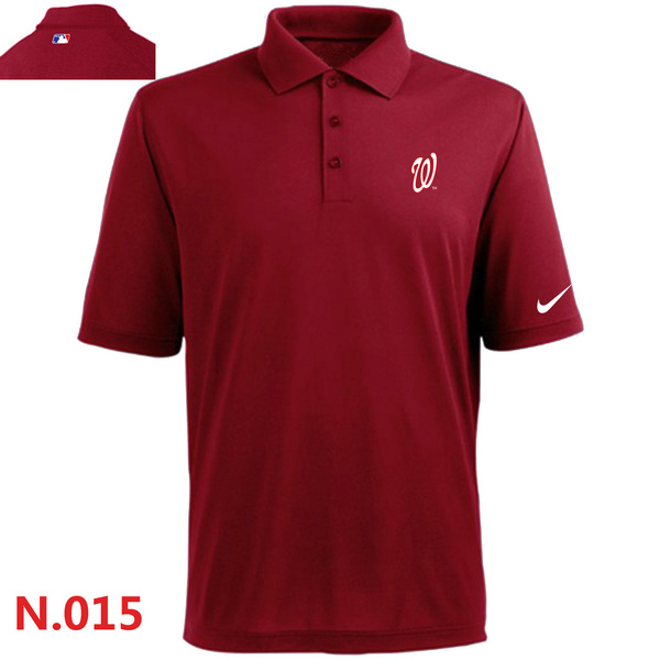 Nike Washington Nationals 2014 Players Performance Polo -Red