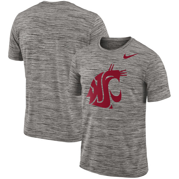 Nike Washington State Cougars 2018 Player Travel Legend Performance T Shirt