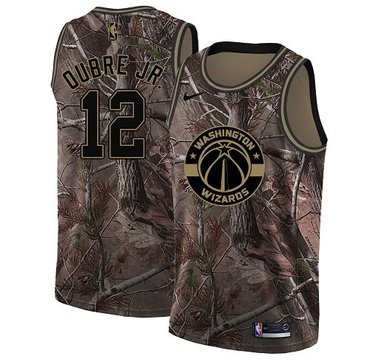 Nike Wizards #12 Kelly Oubre Jr. Camo NBA Swingman Realtree Collection Jersey